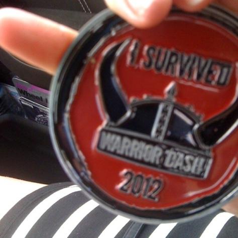 Warrior Dash 2012.